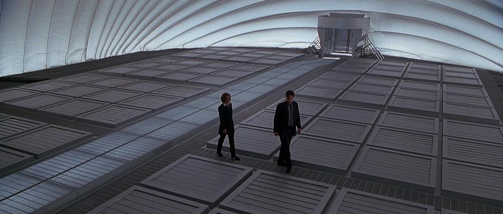 Scena tratta da X Files - Il Film