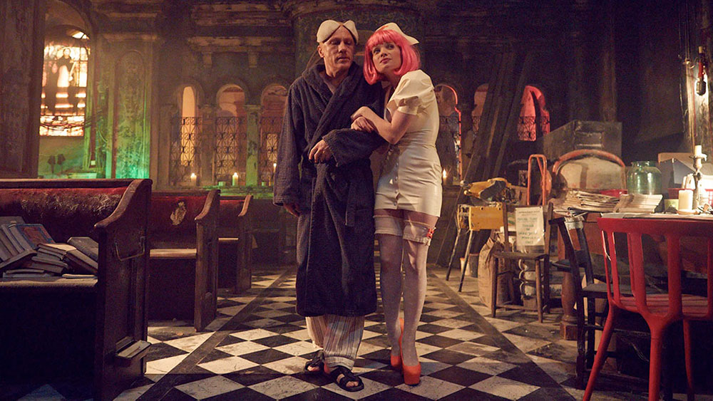 Scena tratta da The Zero Theorem - Tutto è Vanità