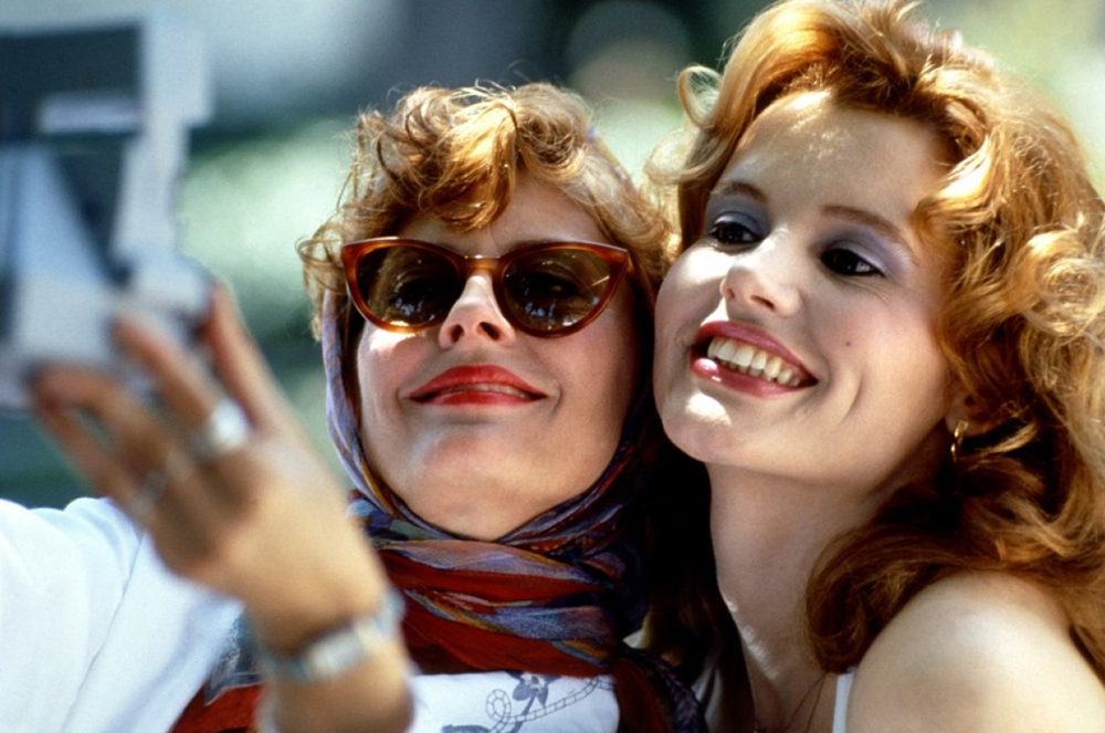 Scena tratta da Thelma and Louise