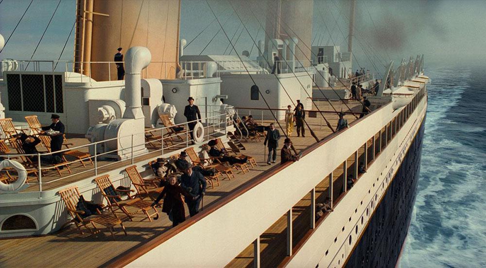 Scena tratta da Titanic