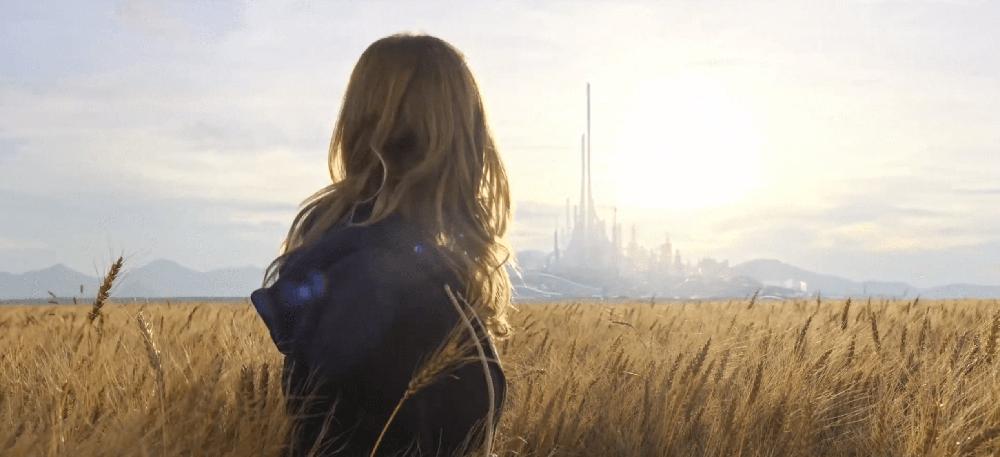 Scena tratta da Tomorrowland - Il Mondo di Domani