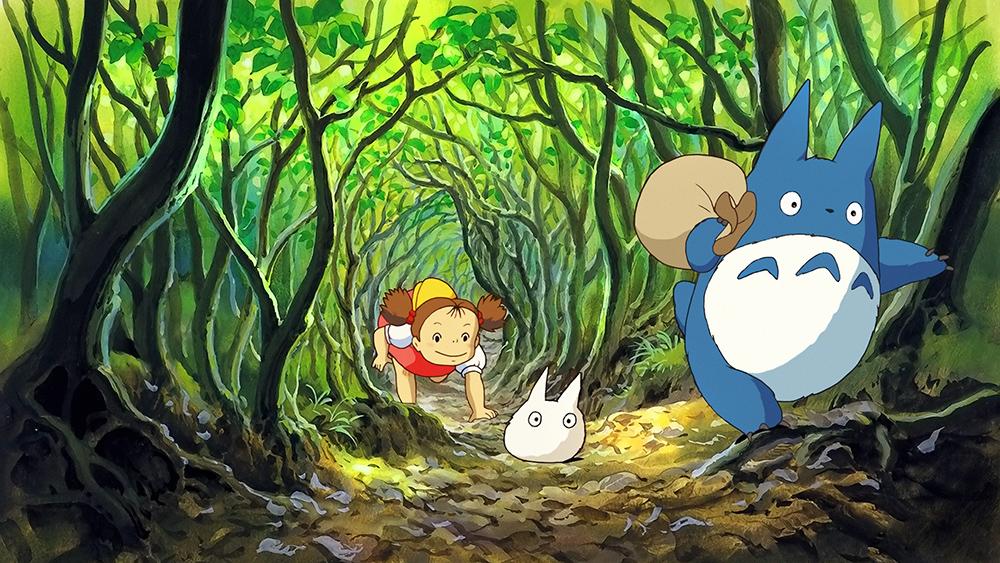 Scena tratta da Tonari no Totoro