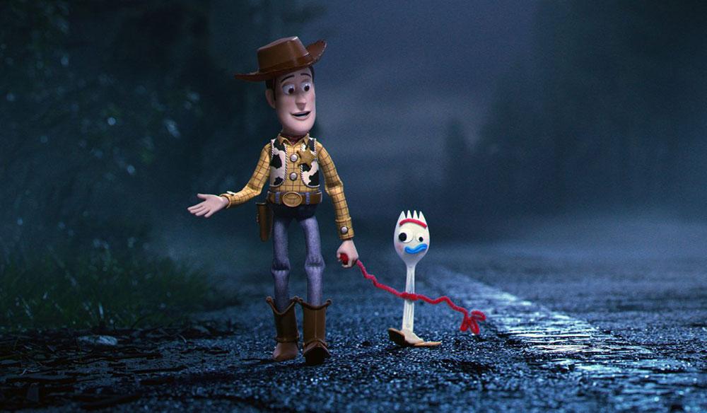 Scena tratta da Toy Story 4