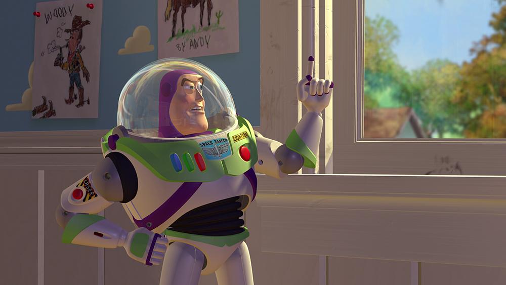 Scena tratta da Toy Story - Il Mondo dei Giocattoli