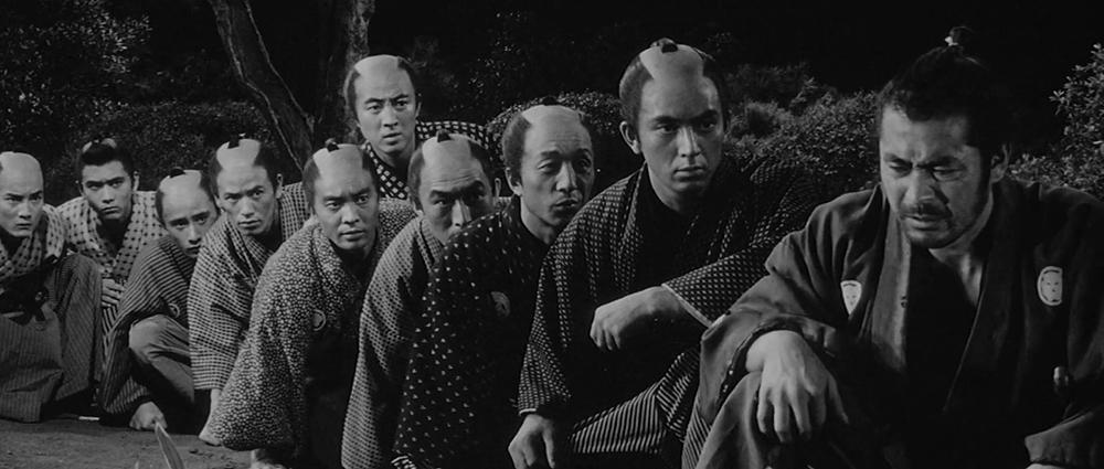 Scena tratta da Tsubaki Sanjuro