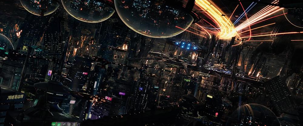 Scena tratta da Valerian e la Città dei Mille Pianeti