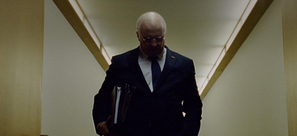 Scena tratta da Vice - L'Uomo nell'Ombra