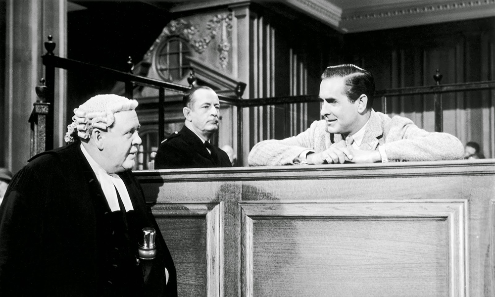 Scena tratta da Witness for the Prosecution