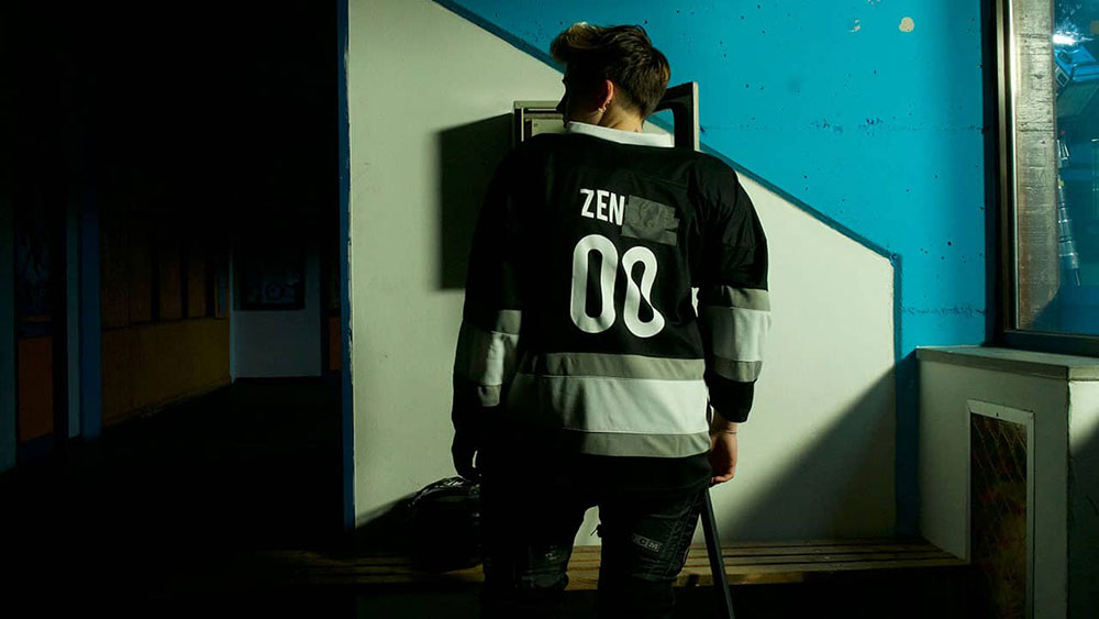Scena tratta da Zen sul Ghiaccio Sottile